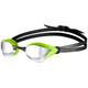 arena Cobra Core Mirror Okulary pływackie zielony/czarny